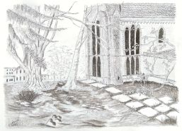 Worcester Cathedral, 2018 (Pencil)